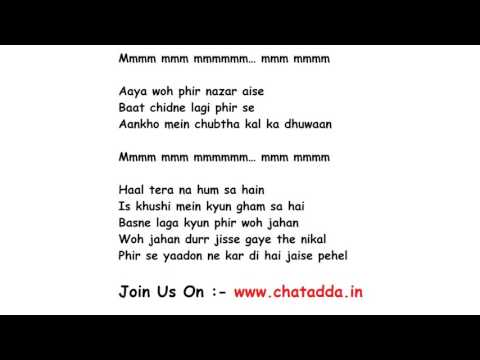 Tune Jo Na Kaha Lyrics Full Song Lyrics Movie - New York