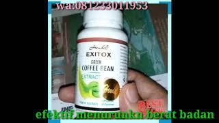 Gambar cover EXITOX COFFE BEAN HENDEL  pelangsing herbal 100% alami wa 081233011953
