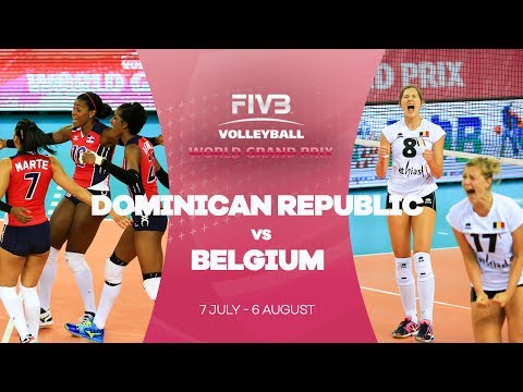Dominican Republic v Belgium highlights - FIVB World Grand Prix