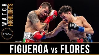 Figueroa vs Flores HIGHLIGHTS: January 13, 2019 - PBC on FS1