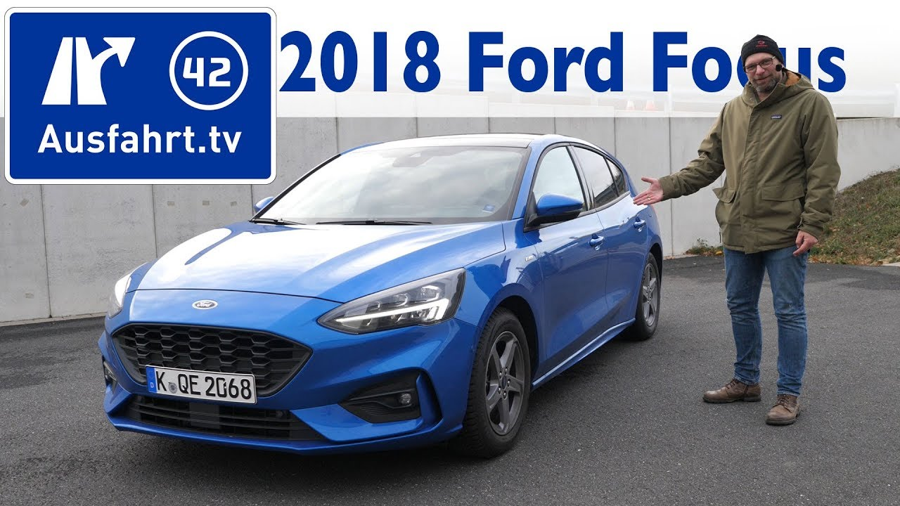 2018 Ford Focus 1 0 L Ecoboost St Line Kaufberatung Test Review