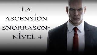 """HITMAN """"la ascensión snorrason Nivel 4"""" Gameplay"""