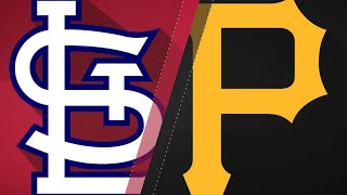 Pirates score eight in 1st to key victory: 9/23/17