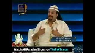 Sare la makan say talab hui.. Amjad Sabri  ...Rashid Hanif