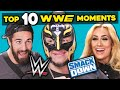 WWE Superstars React To Top 10 WWE Smackdown Moments Of All Time