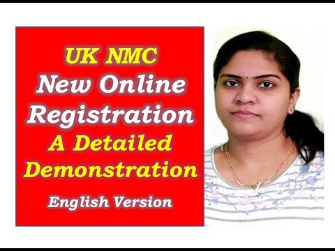 How To Do New Online NMC Registration Process/  A Quick Demonstration