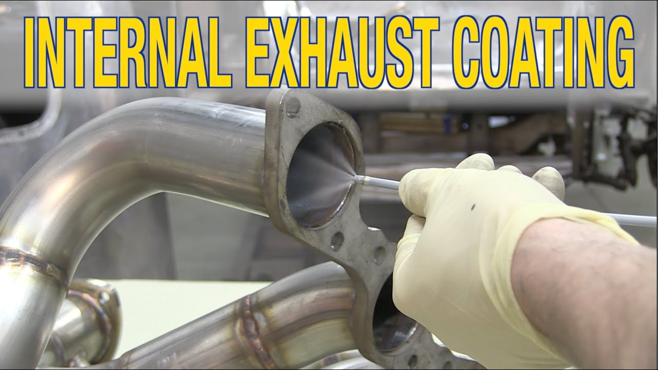 how to paint headers exhaust internal exhaust coating tips for protecting exhaust eastwood