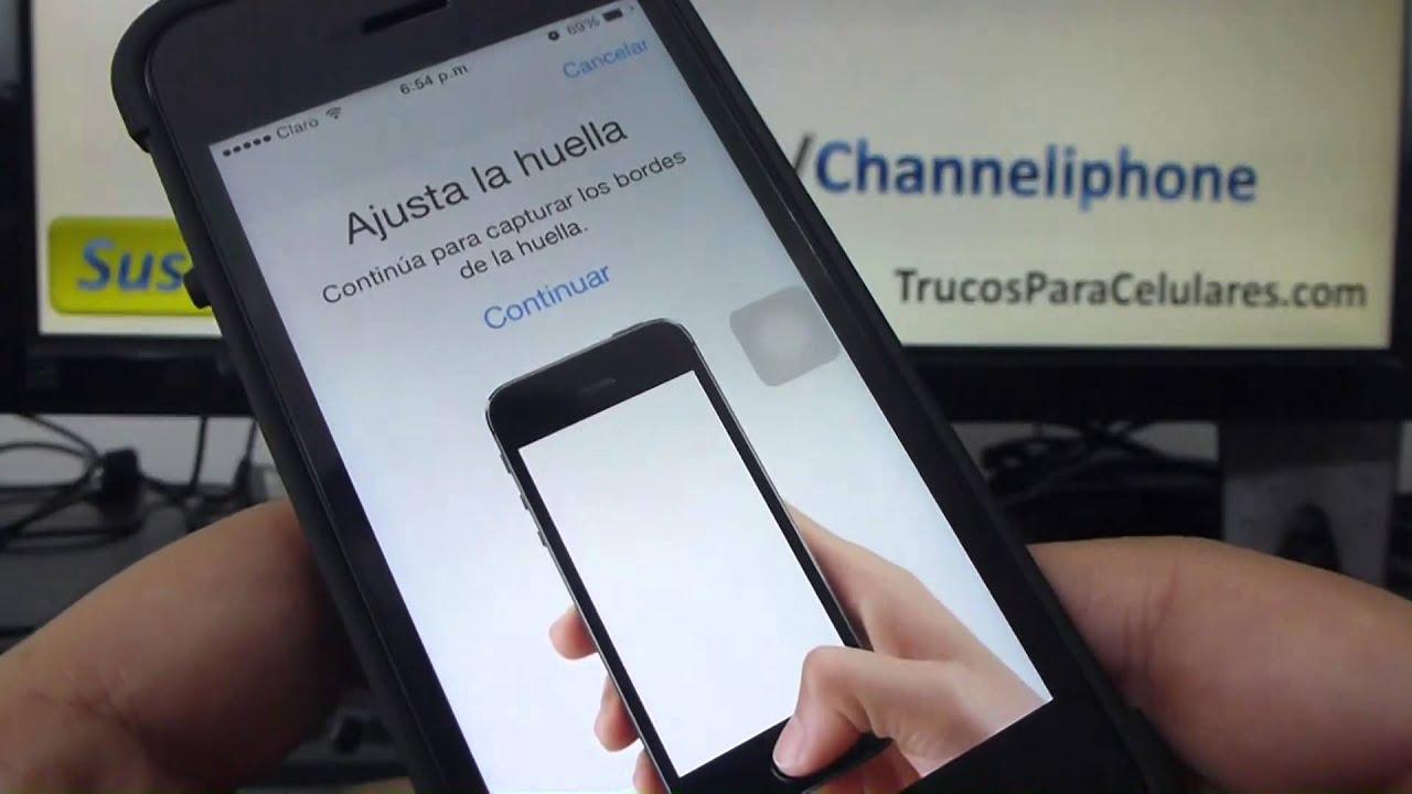DESBLOQUEO HUELLA DACTILAR IPHONE 5