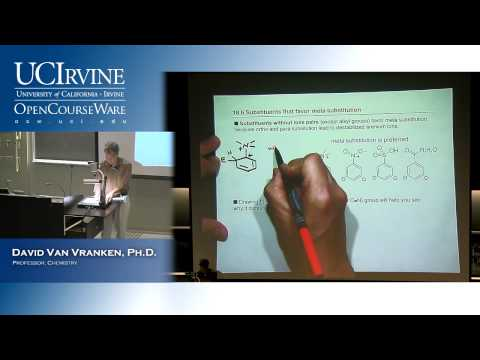 Organic Chemistry 51B. Lecture 25. Electrophilic Aromatic Substitution Part 2.