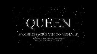 Watch music video: Queen - Machines (Or Back To Humans)