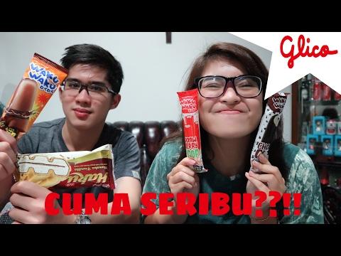ICE CREAM GLICO CUMA SERIBU ?! | REVIEW | Rachel Cynthia