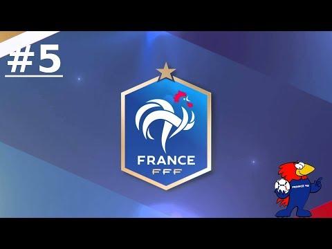 FM 18 #E5 avec l'Equipe de France : World Cup 18, Des essais