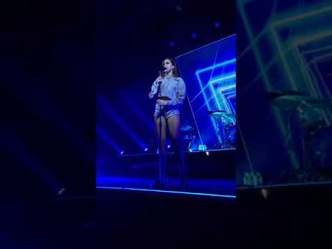 """Dua Lipa Performs """"Lost In Your Light"""" At The Self Titled Tour Day 4"""