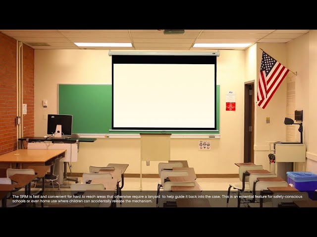 Elite Screens Manual SRM Series Product Video