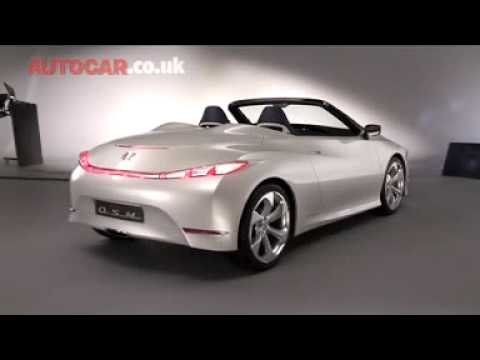 On Video Honda Osm By Autocar Youtube