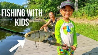 Teaching A TODDLER How To Fish?! Tips & Tricks For Fishing With Kids