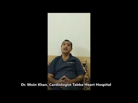 Dr Moin Khan Cardiologist Tabba Heart Hospital