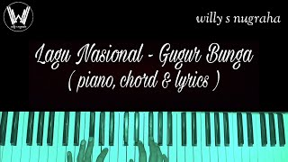 Download lagu Lagu Nasional - Gugur Bunga ( Piano, Chord & Lyrics ) Cover by Willy