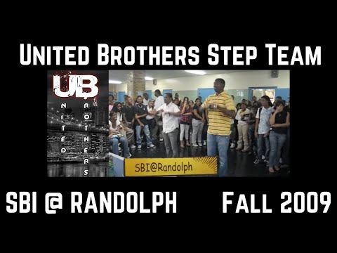 United Brothers Step Team Demo at A. Philip Randolph Campus High School