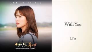 Descendants of the Sun OST - 02 With You (LYn) [Instrumental]