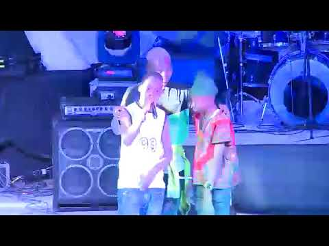 Olamide  Signs two  orphans from crowd to perform at Glo mega Music Tour Ibadan