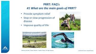 What is PRRT: Dr Jenny Davidson