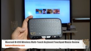 Meerveil M H18 Wireless Multi Touch Keyboard Touchpad Mouse Review
