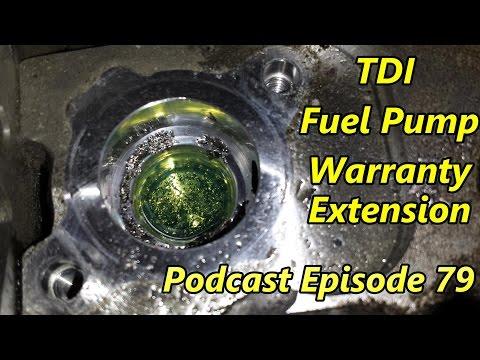 Volkswagen TDI Fuel Pump Warranty Extension
