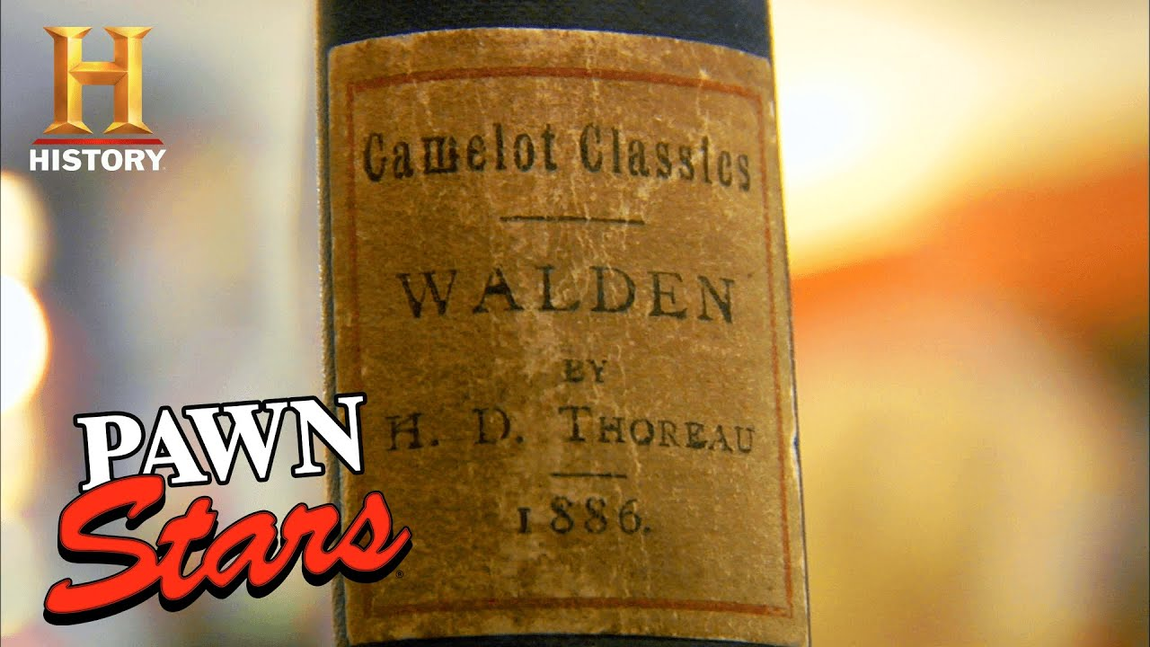 """Pawn Stars: Rebecca's BRUTAL Appraisal of """"Walden"""" First Edition (Season 5) 