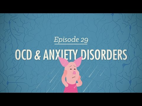 Thumbnail: OCD & Anxiety Disorders: Crash Course Psychology #29