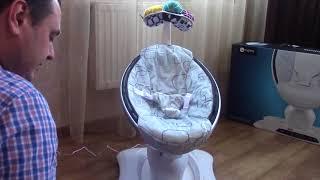 Обзор 4Moms Mamaroo 4.0. Лучший укачивающий центр для новрожденных / прокат.укр
