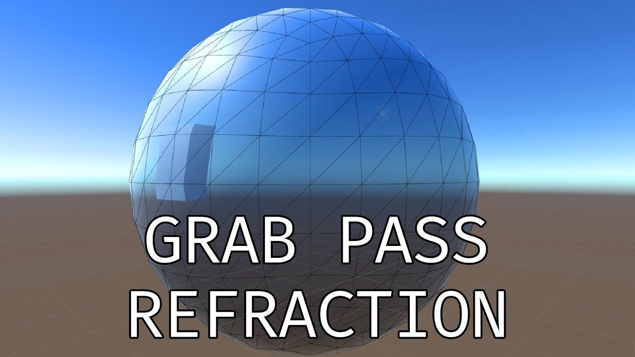 The Most Complicated Nothing Shader - Unity 3D Grab Pass