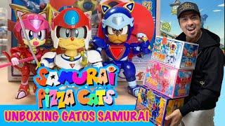 unboxing #samuraipizzacats #gatossamurai Que tal mis tomodachis! por fin ya estan aqui los mejores! los Samurai Pizza Cats o mas conocidos como LOS ...