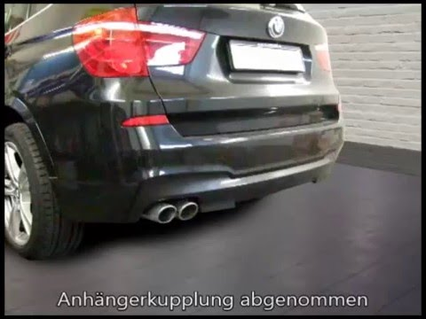 anh ngerkupplung bmw x3 m paket vertikal abnhembar 1132923. Black Bedroom Furniture Sets. Home Design Ideas