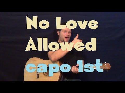 No Love Allowed Guitar Chords - Rihanna - Khmer Chords