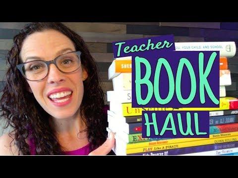 Summer Reads for Teachers - Big Teacher Book Haul -  Spring 2018