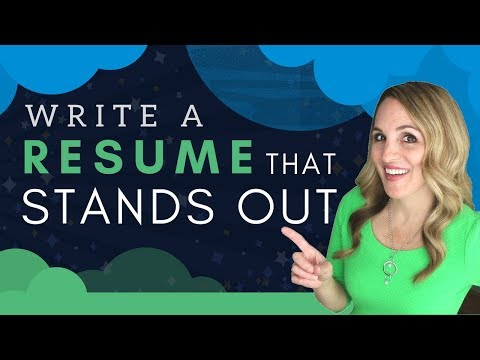 How To Write A Resume That Stands Out – 5 BEST Resume Writing Tips