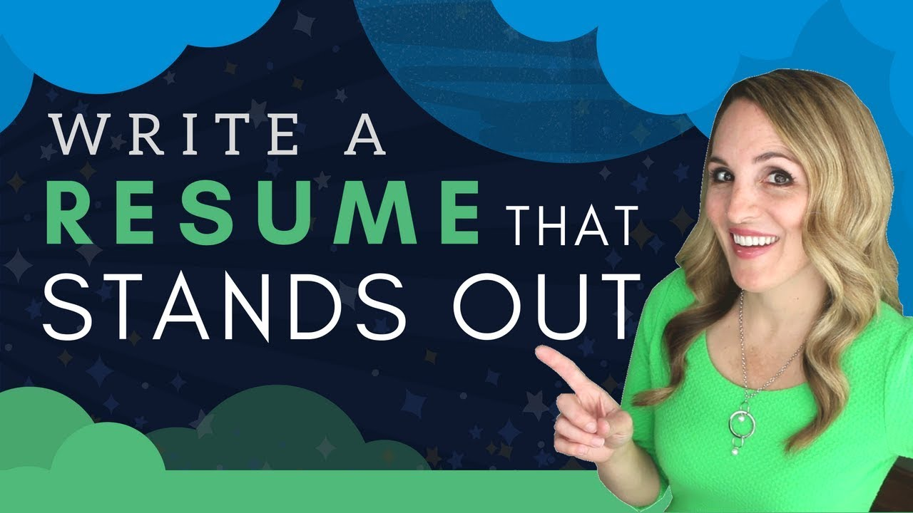 How To Write A Resume That Stands Out - 5 BEST Resume Writing Tips ...