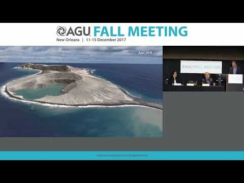 2017 Fall Meeting Press Conference: Evolution of a new Pacific island may unlock secrets to Mars