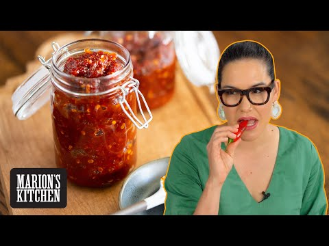 Homemade Sweet Chilli Jam...the condiment I can't live without! 🌶🌶🌶 | Marion's Kitchen