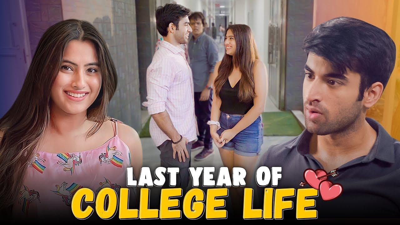 Download Last Year Of College Life Ft. Twarita Nagar, Abhishek & Usmaan   Hasley India Originals!