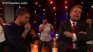 ليام وجيمس كوردن مترجم | boy band v. Solo Artists Riff-Off w/ Liam Payne