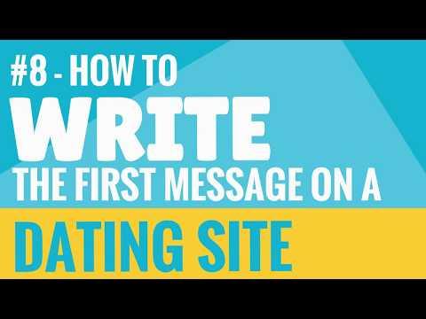 best 1st message online dating