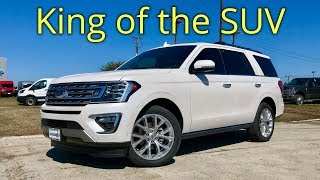 2018 Ford Expedition Limited Walkaround and Features