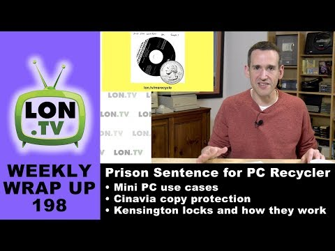 Weekly Wrapup 198 - More to the PC Recycler Prison Story, Use cases for Mini PCs and more