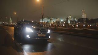 Hyundai Equus, тест-драйв