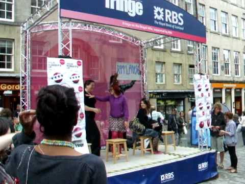 andrea speed dating at the fringe in edinburgh lol