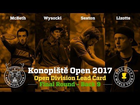 2017 Konopiště Open Lead Card Final Round Back 9 (McBeth, Wysocki, Sexton, Lizotte)
