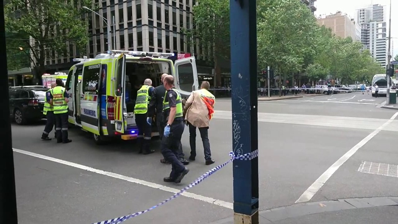 Bourke St Mall Incident  Youtube