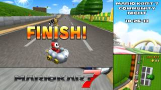 Community Night - Mario Kart 7 [October 29, 2013]